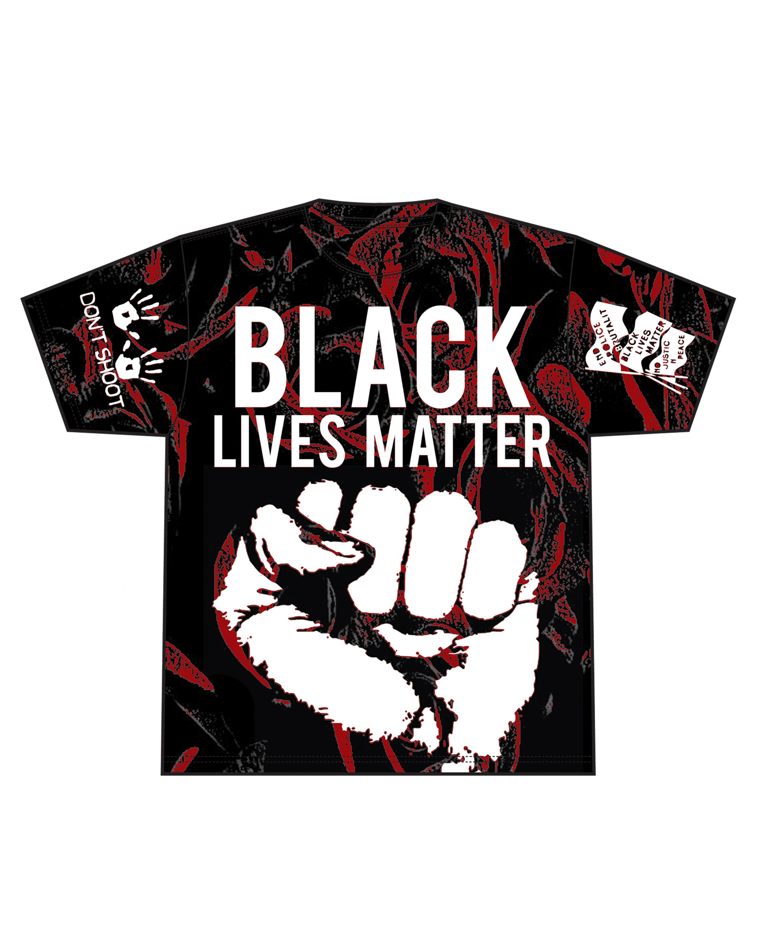Black Lives Matter – Flag Edition [T-Shirt] – Creators Print House